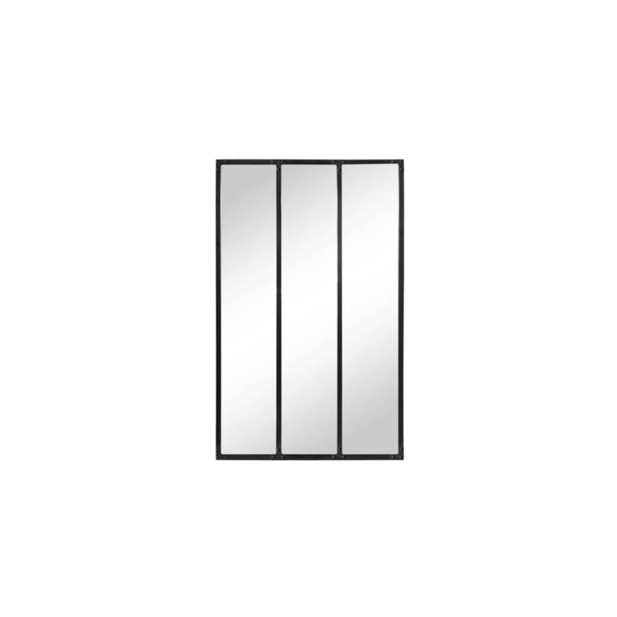 Miroir 72x120 cm INDUZA Noir