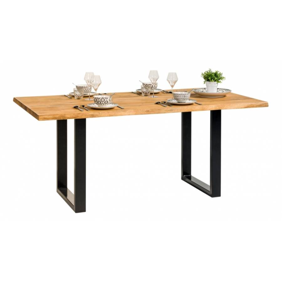 Table rectangulaire EMMA chêne massif