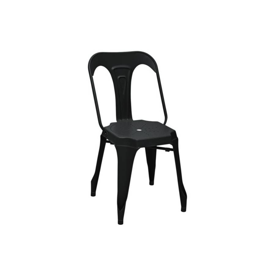 Chaise INDUSTRIEL Noir