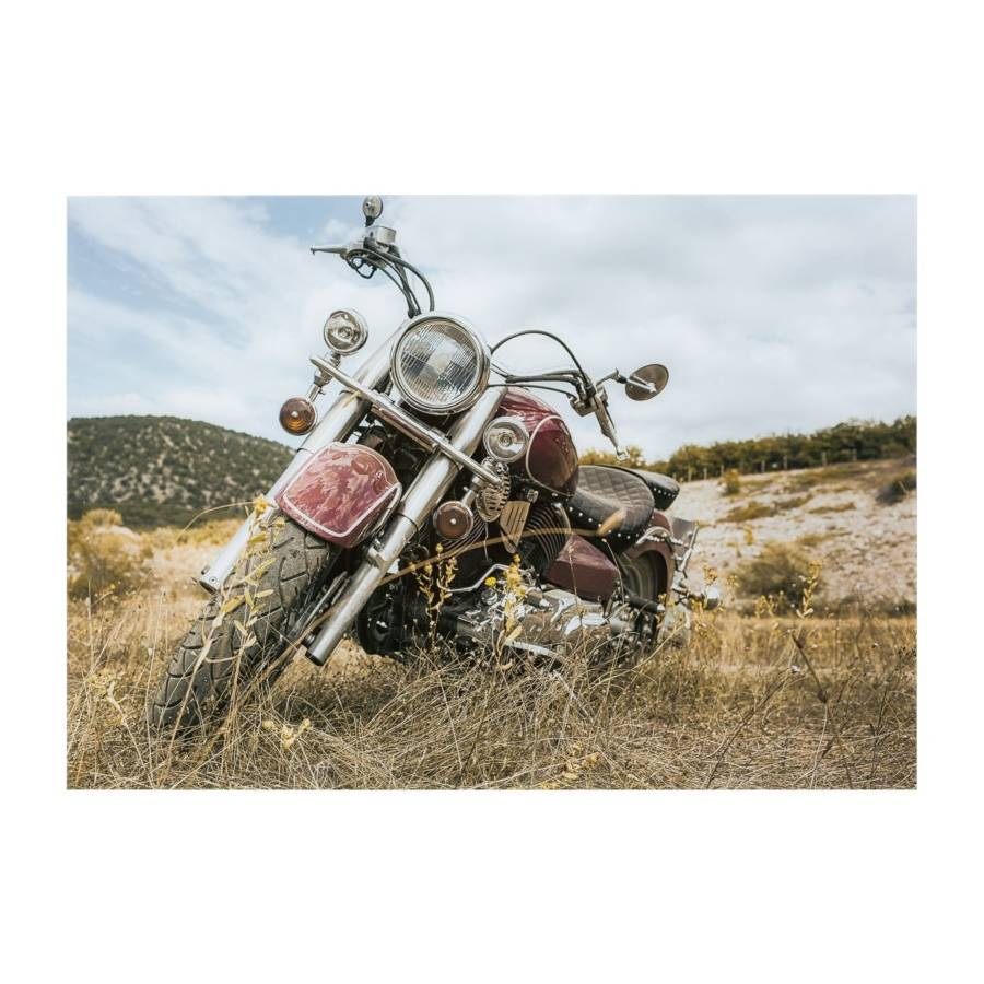 Tableau verre 100x70 MOTO