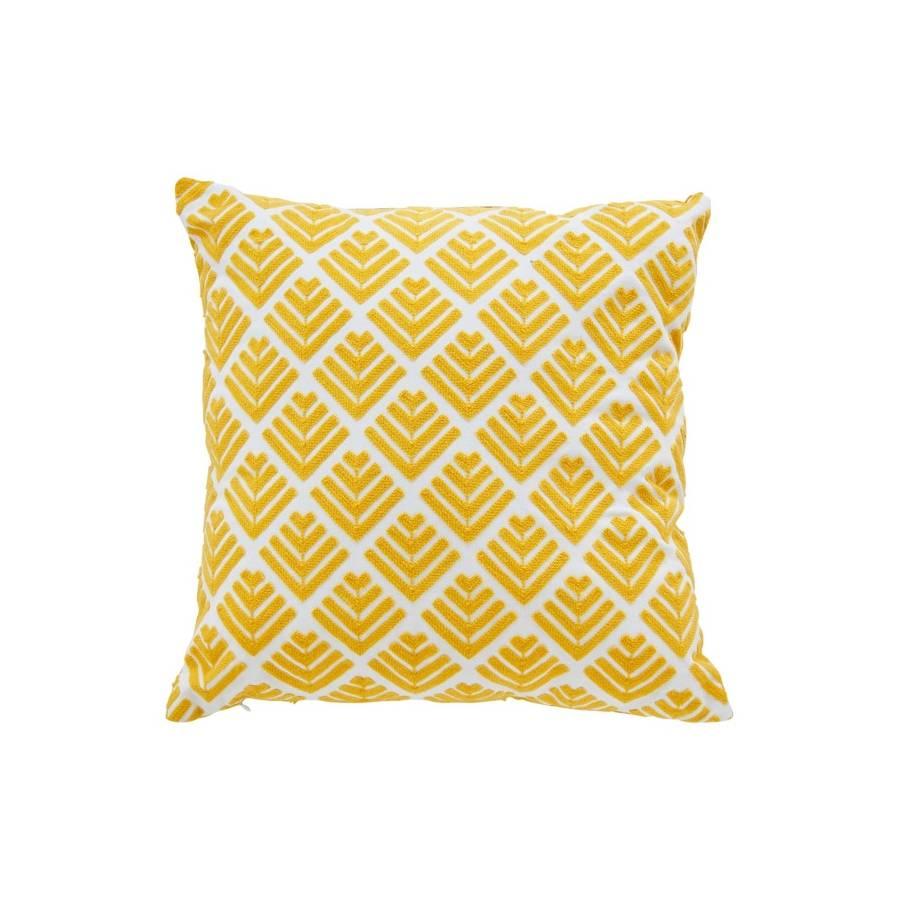 Coussin 45x45 cm RUSTY jaune