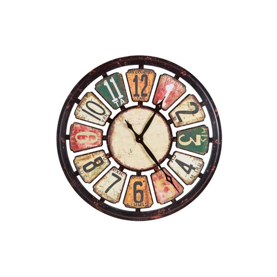 Horloge Ø80 cm ATHENA Multicolor